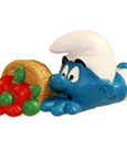 The Smurfs Figure Clumsy Smurf 6 cm