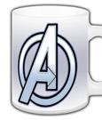 The Avengers Mug Logo
