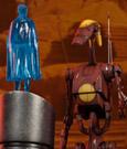 Star Wars Action Figure 1/6 Geonosis Battle Droid Commander & Count Dooku Hologram 30 cm
