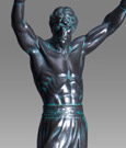 Rocky Resin Statue Rocky Balboa 30 cm