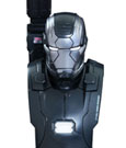 Avengers Age of Ultron Bust 1/6 Iron Man War Machine Mark II 11 cm