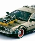 Back to the Future III Diecast Model 1/18 �87 DeLorean LK Coupe