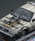Back to the Future III Diecast Model 1/18 �81 DeLorean Railroad Version