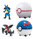 Pokemon Super Catch�n�Return Pok� Ball Assortment (4)