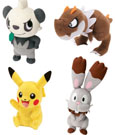Pokemon Plush Figures 20 cm Wave 6 Display (6)