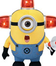 Despicable Me 2 Talking Plush Figure Bee Doo Stuart 25 cm