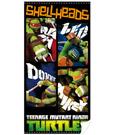 Teenage Mutant Ninja Turtles Towel Shellheads 140 x 70 cm