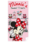 Minnie Mouse Towel Cupcake 140 x 70 5 cm