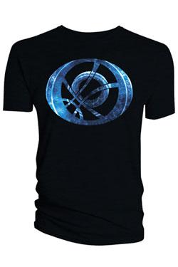 Doctor Strange T-Shirt Blue Symbol Oblong black Size XL