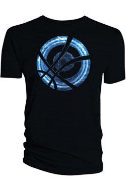 Doctor Strange T-Shirt Blue Symbol Circle black Size XL