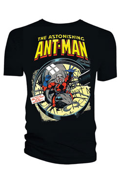 Marvel Comics T-Shirt Ant-Man Magnifying Glass Size S