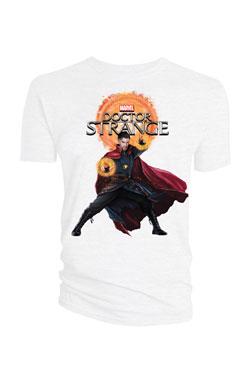 Doctor Strange T-Shirt Doctor Strange & Logo white Size M