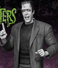 The Munsters Maquette Herman Munster Black and White Edition 38 cm