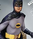 Batman 1966 Maquette To The Batmobile Batman 30 cm