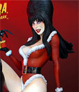 Elvira Mistress of the Dark Maquette Elvira Scary Christmas 46 cm