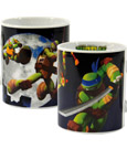 Teenage Mutant Ninja Turtles Mug Characters