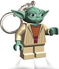 Lego Star Wars Mini-Flashlight with Keychains Yoda