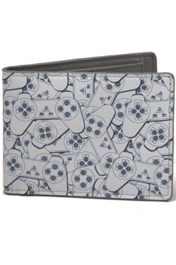 Sony PlayStation Wallet Bifold Controller Pattern