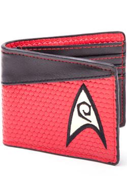 Star Trek Wallet Bifold Engineering Logo Red