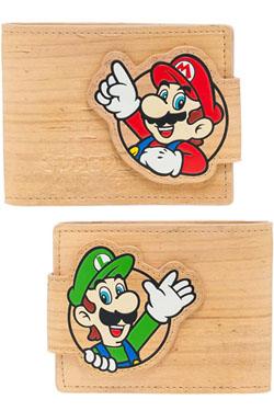 Nintendo Wallet Woodgrain Snap