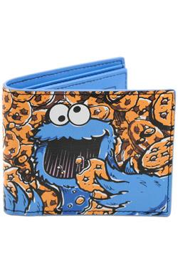Sesame Street Wallet Cookie Monster Full Co