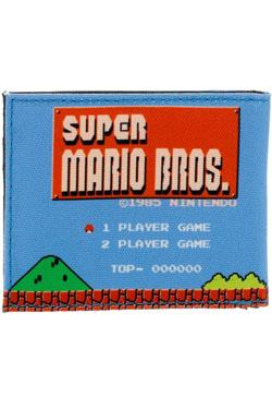 Nintendo Wallet Super Mario Bros Retro Landscape