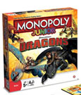 How to Train Your Dragon Board Game Monopoly Junior *English Version*