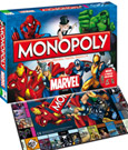 Marvel Universe Board Game Monopoly *French Version*
