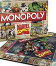 Marvel Comics Board Game Monopoly *German Version*