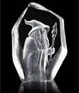 The Hobbit Crystal Sculpture Gandalf 18 cm