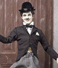 Charlie Chaplin 1/6 Action Figure Tramp 100th Anniversary Deluxe Ver 30 cm