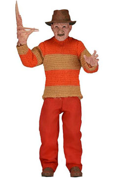 Nightmare On Elm Street Retro Action Figure Freddy Classic Video Game Appearance 20 cm