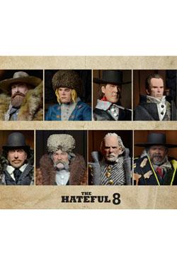 The Hateful Eight Action Figures 20 cm Assortment (8)