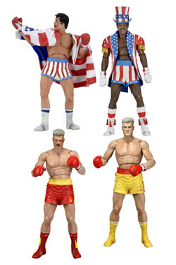 Rocky Action Figures 18 cm Series 2 40th Anniversary Assortment (14)
