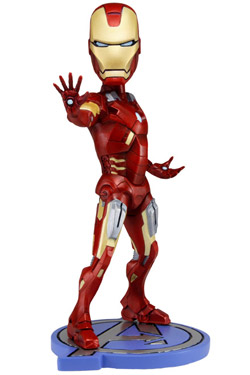 The Avengers Head Knocker Bobble-Head Iron Man 18 cm