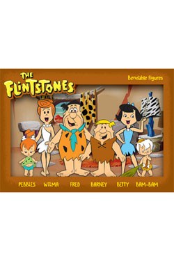 The Flintstones Bendable Figures 6-Pack 6 - 15 cm