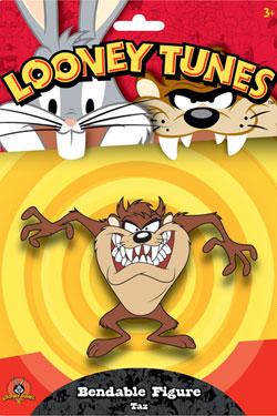 Looney Tunes Bendable Figure Taz the Tazmanian Devil 15 cm