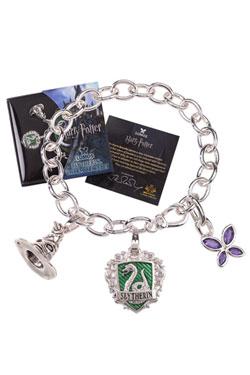 Harry Potter Charm Bracelet Lumos Slytherin (silver plated)