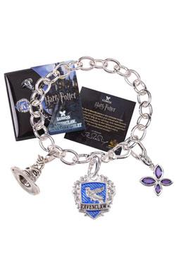 Harry Potter Charm Bracelet Lumos Ravenclaw (silver plated)