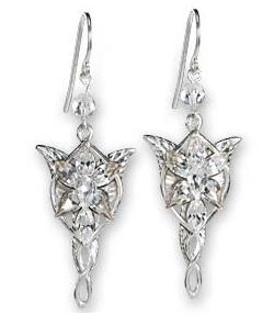 Lord of the Rings Earrings Arwen´s Evenstar (Sterling Silver)