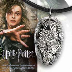 Harry Potter Pendant with Chain Bellatrix Death Eater Mask