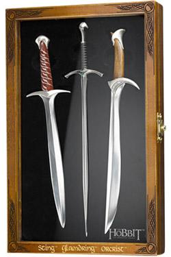 The Hobbit Letter Opener Set Swords