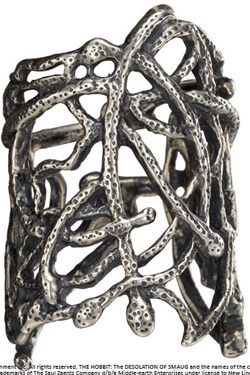 The Hobbit An Unexpected Journey Thranduil Mirkwood Ring (Sterling Silver) Size 10
