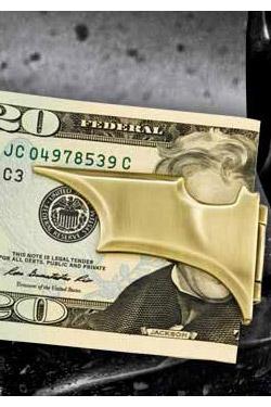 Batman The Dark Knight Rises Batarang Folding Money Clip