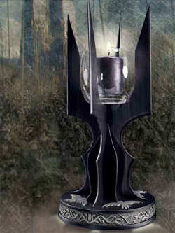 Lord of the Rings Candle Holder Saruman 26 cm