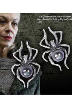 Harry Potter Replica 1/1 Narcissa Malfoy Spider Earrings  (Sterling Silver)