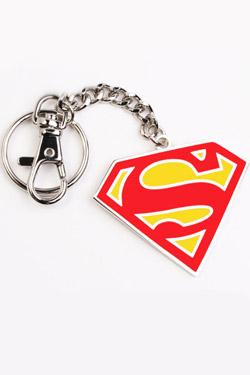 Superman Key Ring Red Logo