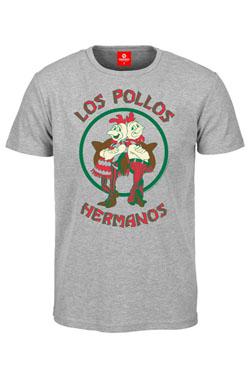 Breaking Bad T-Shirt Los Pollos Hermanos grey Size S