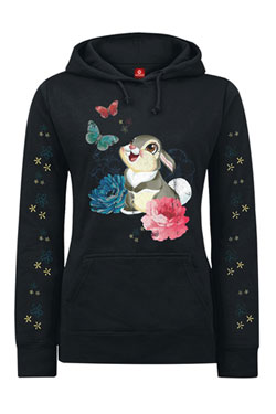 Disney Ladies Hooded Sweater Thumper Size L