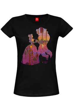 Beauty and the Beast Ladies T-Shirt The Ball Girl Size L